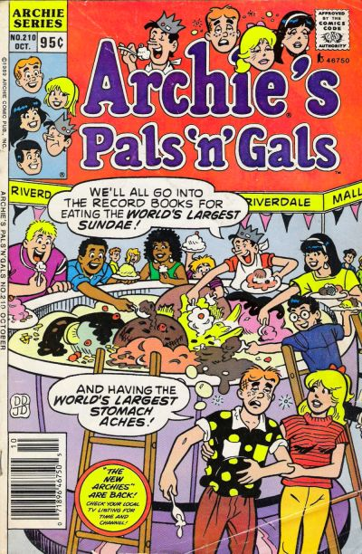 Cover for Archie's Pals 'n' Gals (Archie, 1952 series) #210
