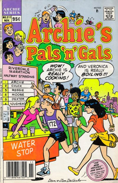 Cover for Archie's Pals 'n' Gals (Archie, 1952 series) #211