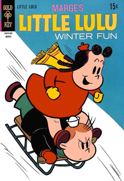 Cover for Marge's Little Lulu (Western, 1962 series) #191