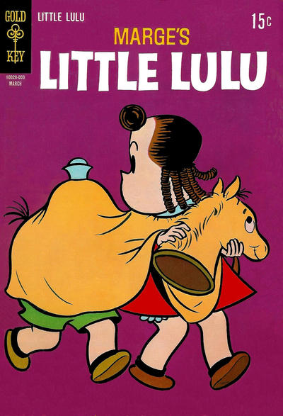 Cover for Marge's Little Lulu (Western, 1962 series) #195