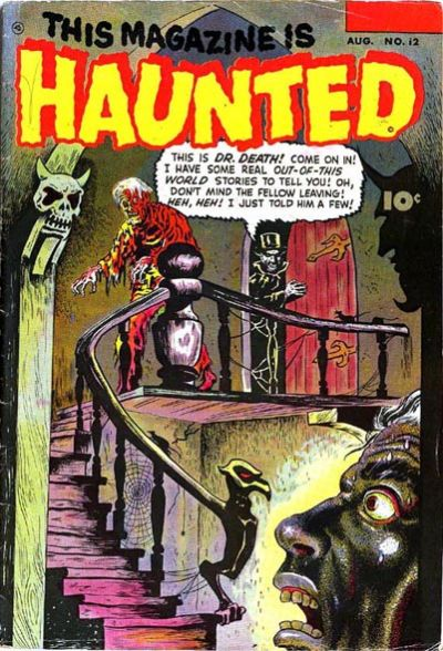 Cover for This Magazine Is Haunted (Fawcett, 1951 series) #12