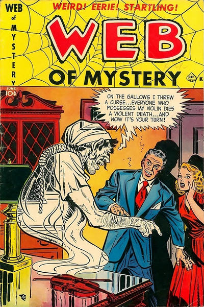 Cover for Web of Mystery (Ace Magazines, 1951 series) #3