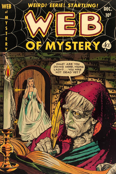 Cover for Web of Mystery (Ace Magazines, 1951 series) #6