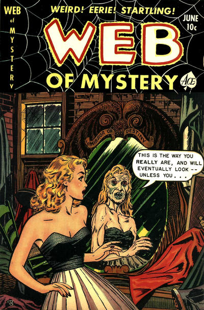 Cover for Web of Mystery (Ace Magazines, 1951 series) #10