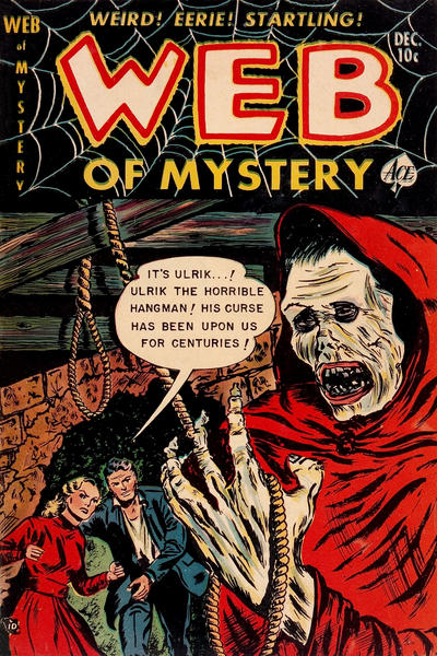 Cover for Web of Mystery (Ace Magazines, 1951 series) #16
