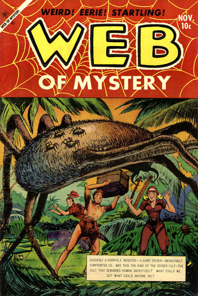 Cover for Web of Mystery (Ace Magazines, 1951 series) #21