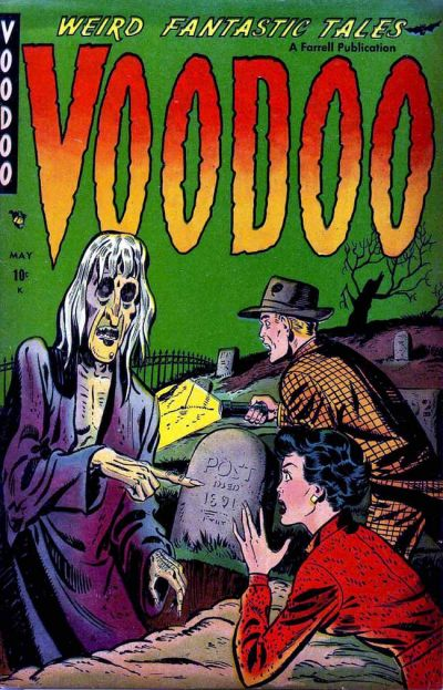 Cover for Voodoo (Farrell, 1952 series) #1