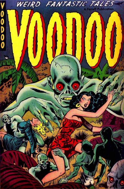 Cover for Voodoo (Farrell, 1952 series) #2