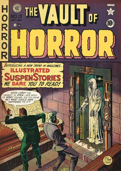Cover for Vault of Horror (EC, 1950 series) #13