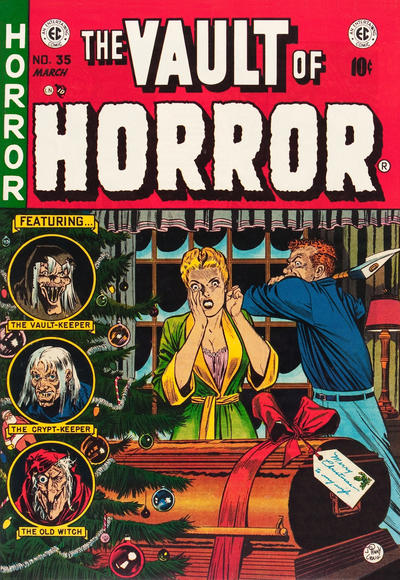 Cover for Vault of Horror (EC, 1950 series) #35