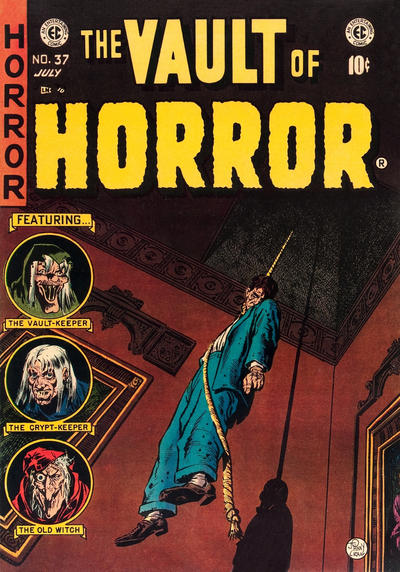 Cover for Vault of Horror (EC, 1950 series) #37
