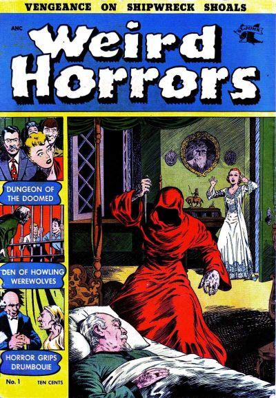 Cover for Weird Horrors (St. John, 1952 series) #1