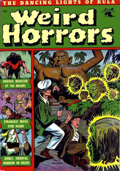 Cover for Weird Horrors (St. John, 1952 series) #2