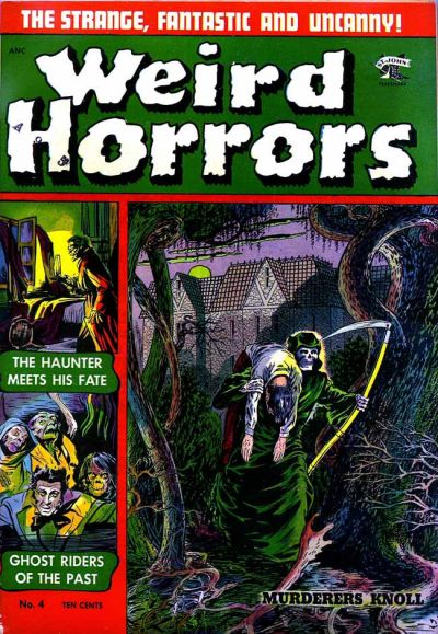 Cover for Weird Horrors (St. John, 1952 series) #4