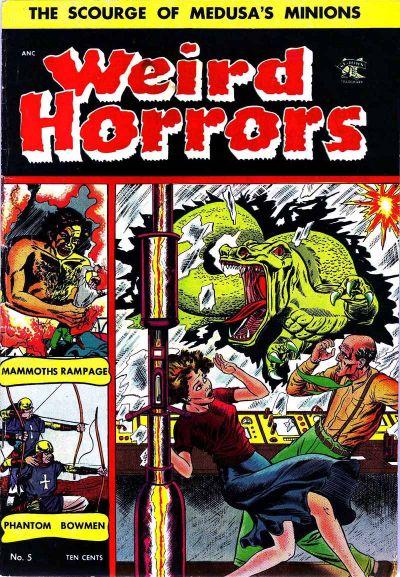 Cover for Weird Horrors (St. John, 1952 series) #5