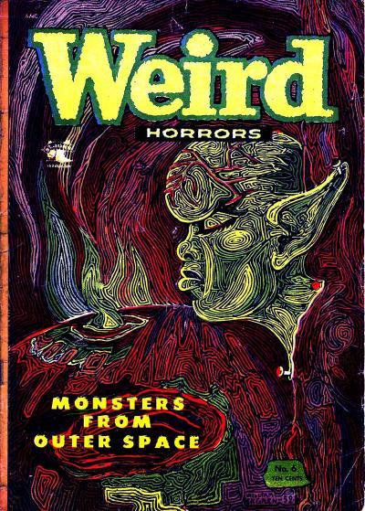 Cover for Weird Horrors (St. John, 1952 series) #6