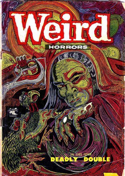 Cover for Weird Horrors (St. John, 1952 series) #7