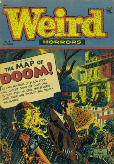 Cover for Weird Horrors (St. John, 1952 series) #9