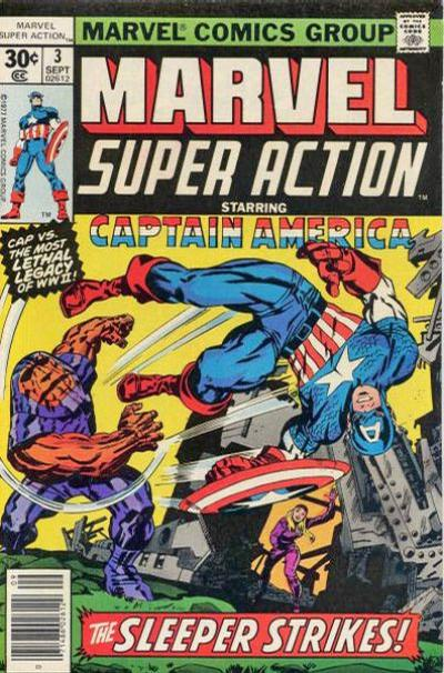 Cover for Marvel Super Action (Marvel, 1977 series) #3 [35 cent cover price variant]