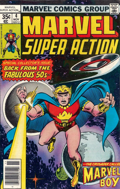 Cover for Marvel Super Action (Marvel, 1977 series) #4 [Regular Edition]