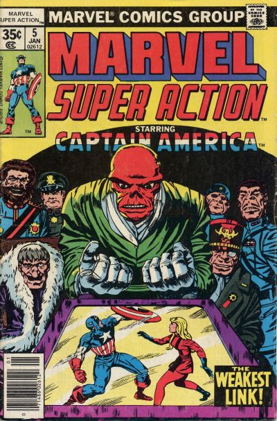 Cover for Marvel Super Action (Marvel, 1977 series) #5