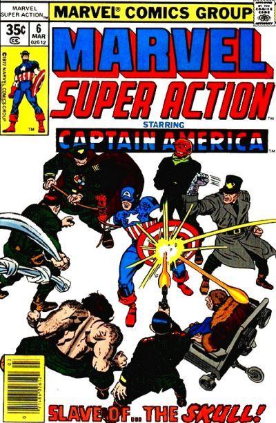 Cover for Marvel Super Action (Marvel, 1977 series) #6