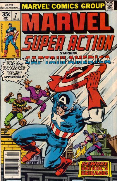 Cover for Marvel Super Action (Marvel, 1977 series) #7