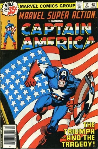 Cover for Marvel Super Action (Marvel, 1977 series) #11
