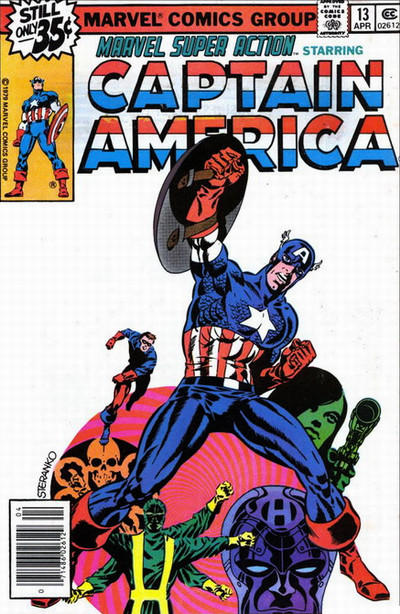 Cover for Marvel Super Action (Marvel, 1977 series) #13