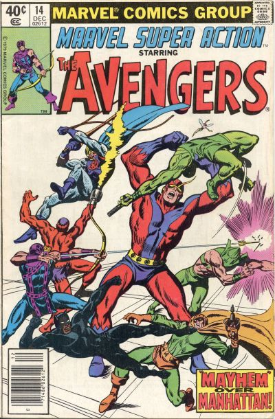 Cover for Marvel Super Action (Marvel, 1977 series) #14 [Direct Edition]