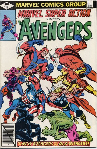 Cover for Marvel Super Action (Marvel, 1977 series) #16 [Direct Edition]