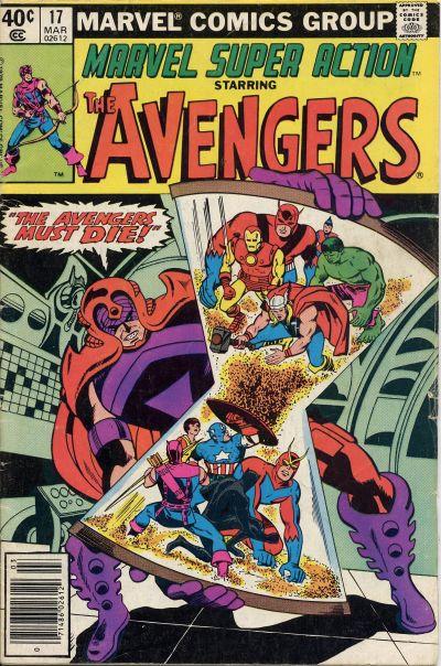 Cover for Marvel Super Action (Marvel, 1977 series) #17