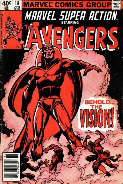 Cover for Marvel Super Action (Marvel, 1977 series) #18