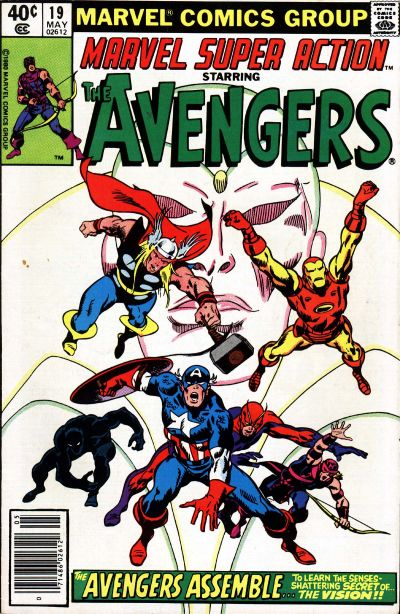 Cover for Marvel Super Action (Marvel, 1977 series) #19