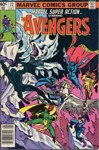 Cover for Marvel Super Action (Marvel, 1977 series) #22