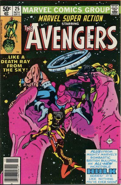 Cover for Marvel Super Action (Marvel, 1977 series) #25 [Newsstand]