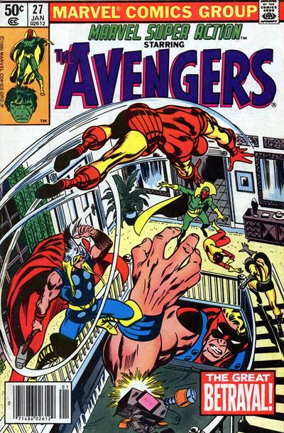 Cover for Marvel Super Action (Marvel, 1977 series) #27