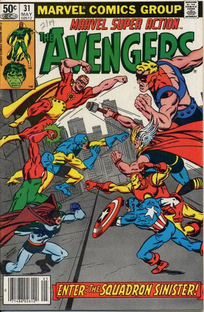 Cover for Marvel Super Action (Marvel, 1977 series) #31 [Direct Edition]