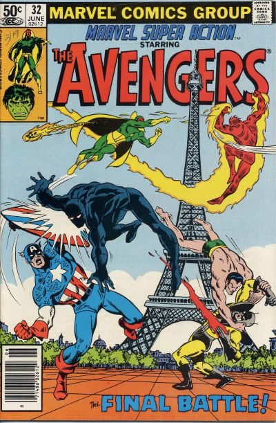 Cover for Marvel Super Action (Marvel, 1977 series) #32