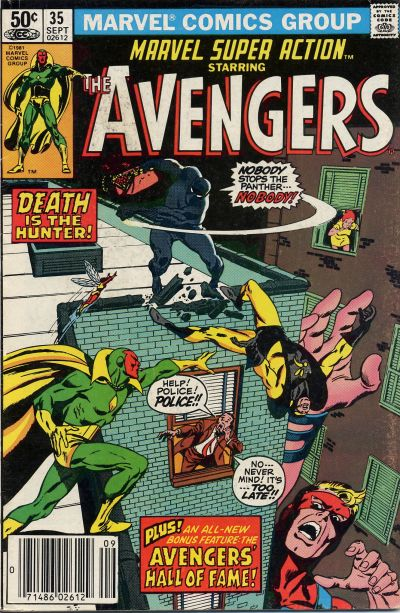 Cover for Marvel Super Action (Marvel, 1977 series) #35