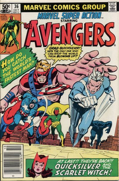 Cover for Marvel Super Action (Marvel, 1977 series) #36
