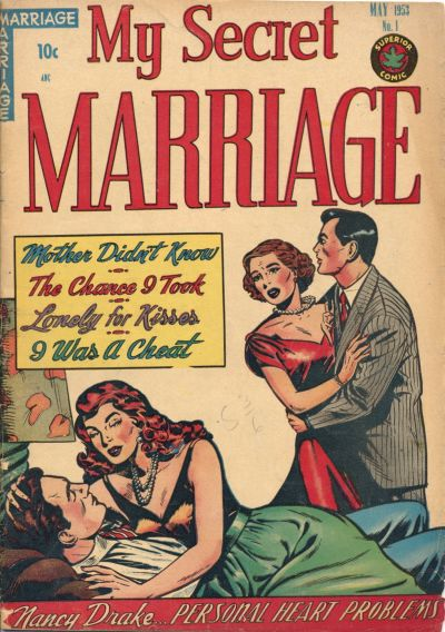 Cover for My Secret Marriage (Superior, 1953 series) #1