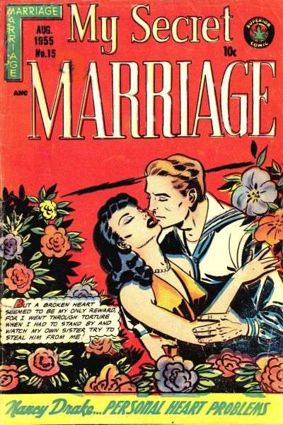 Cover for My Secret Marriage (Superior, 1953 series) #15