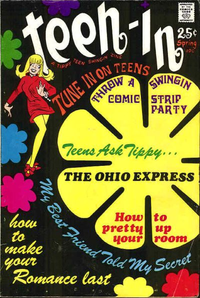 Cover for Teen-In (Tower, 1968 series) #[2]