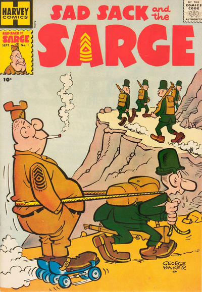 Cover for Sad Sack and the Sarge (Harvey, 1957 series) #1