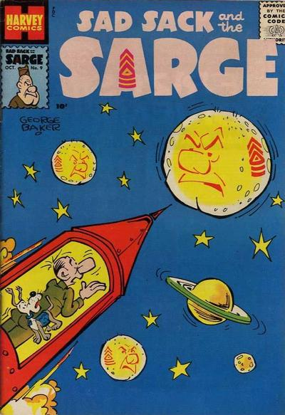 Cover for Sad Sack and the Sarge (Harvey, 1957 series) #9