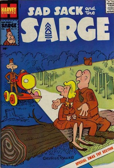 Cover for Sad Sack and the Sarge (Harvey, 1957 series) #11