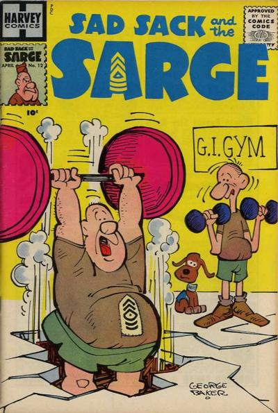 Cover for Sad Sack and the Sarge (Harvey, 1957 series) #12