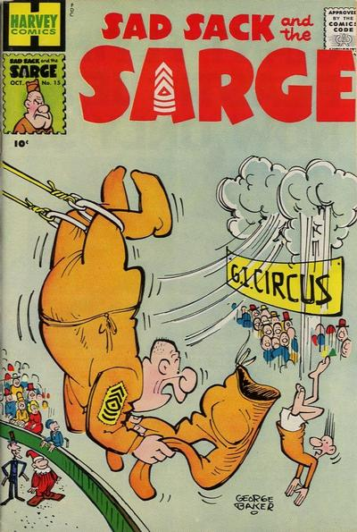 Cover for Sad Sack and the Sarge (Harvey, 1957 series) #15