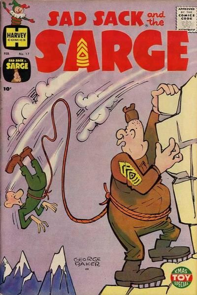 Cover for Sad Sack and the Sarge (Harvey, 1957 series) #17